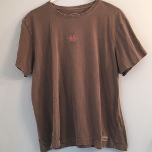 """Life is Good """"Love Bug"""" Graphic T-shirt XL"""